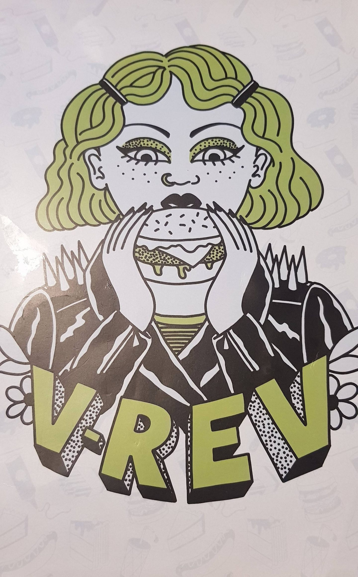 V-Rev vegan diner