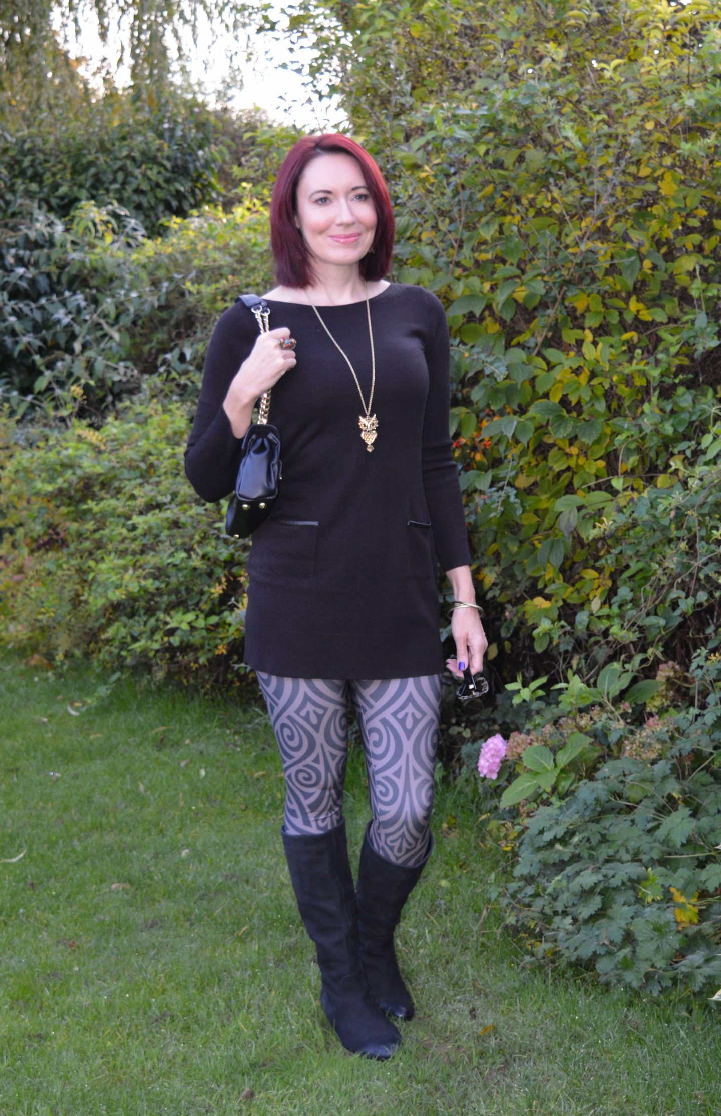 Lovely in Leggings - November Stylish Monday link up, Meadowlark leggings