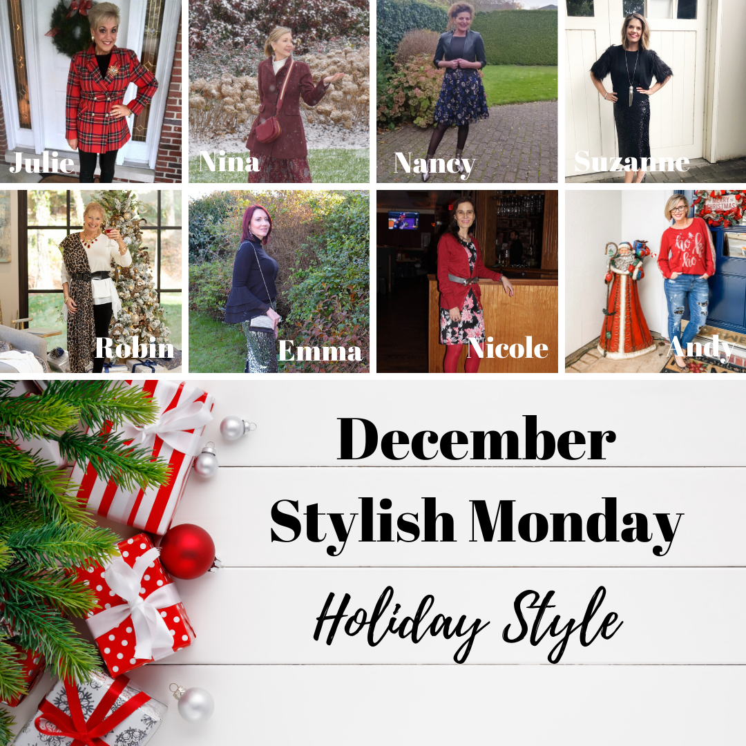 December Stylish Monday link up Holiday Style