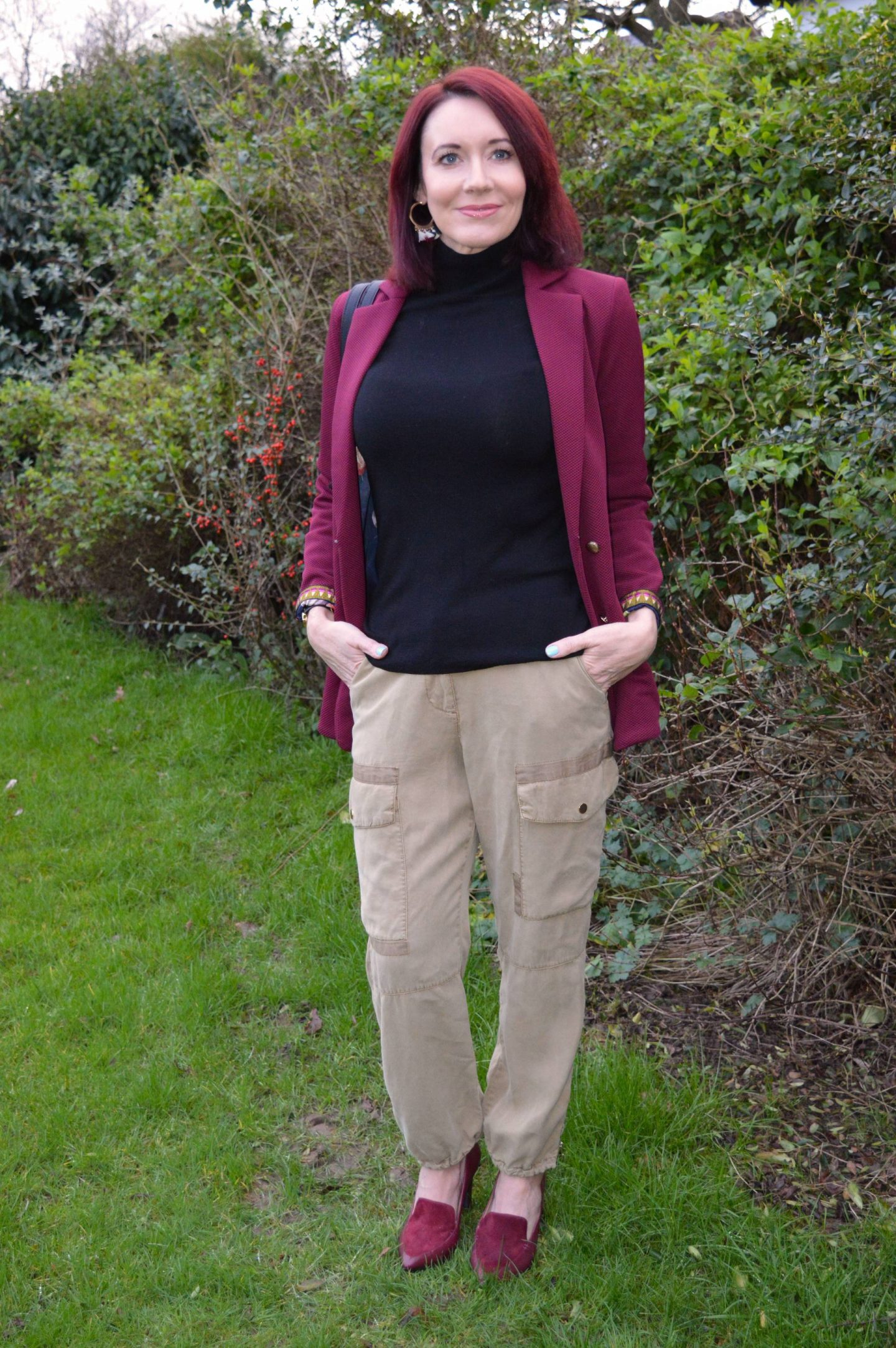 Pom Amsterdam Bordeaux Jacket and Utility Trousers