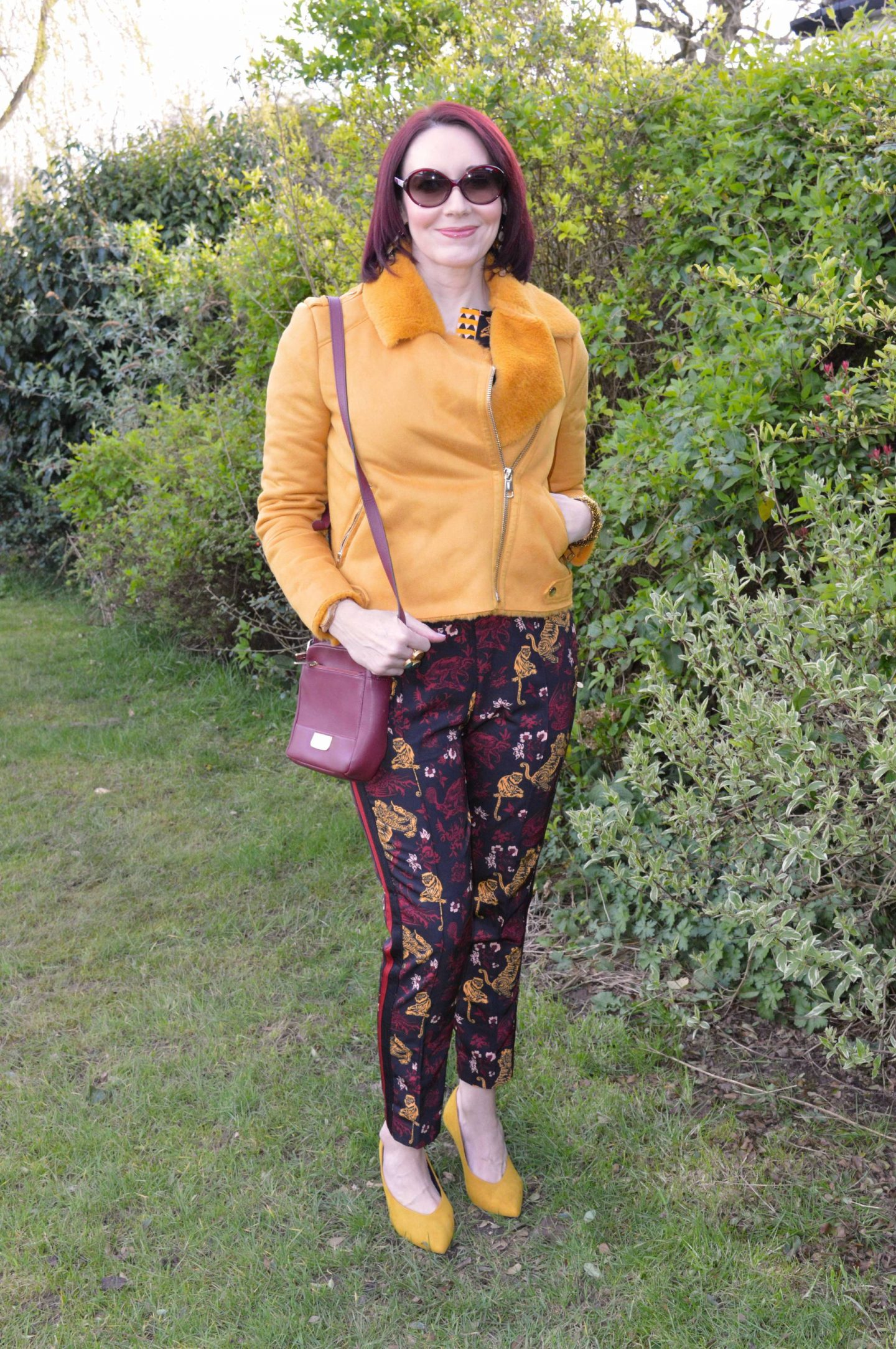 Scotch and Soda Co-ord, River Island mustard biker jacket