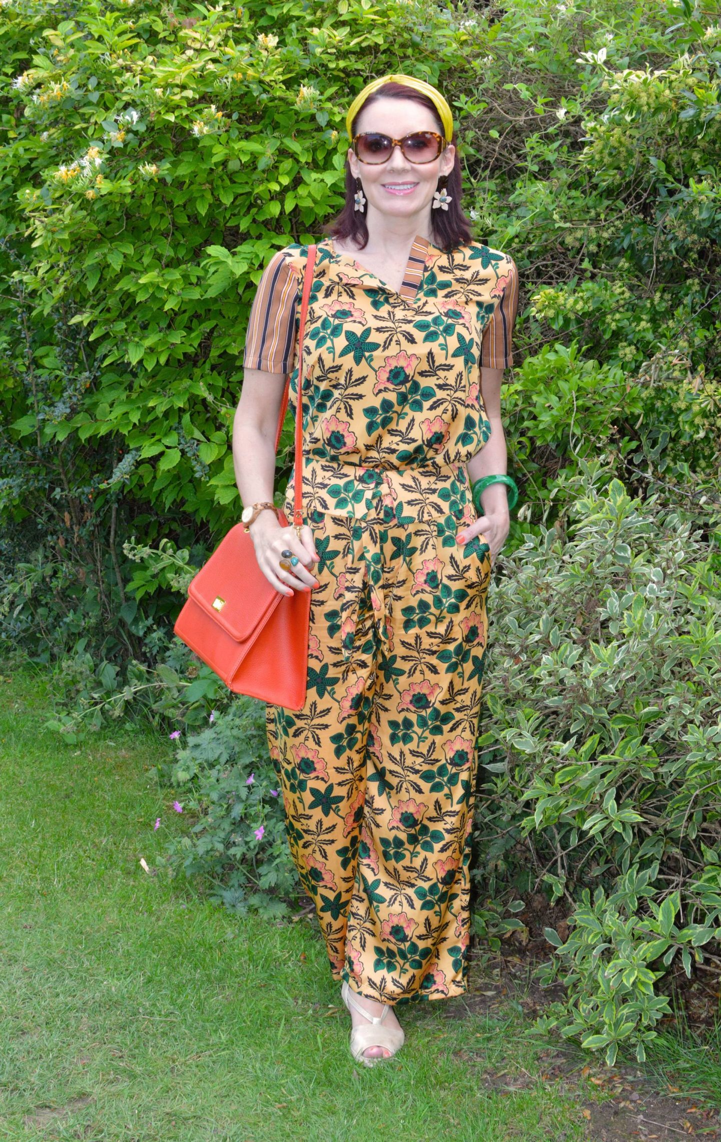 Scotch & Soda Floral Print Co-ord