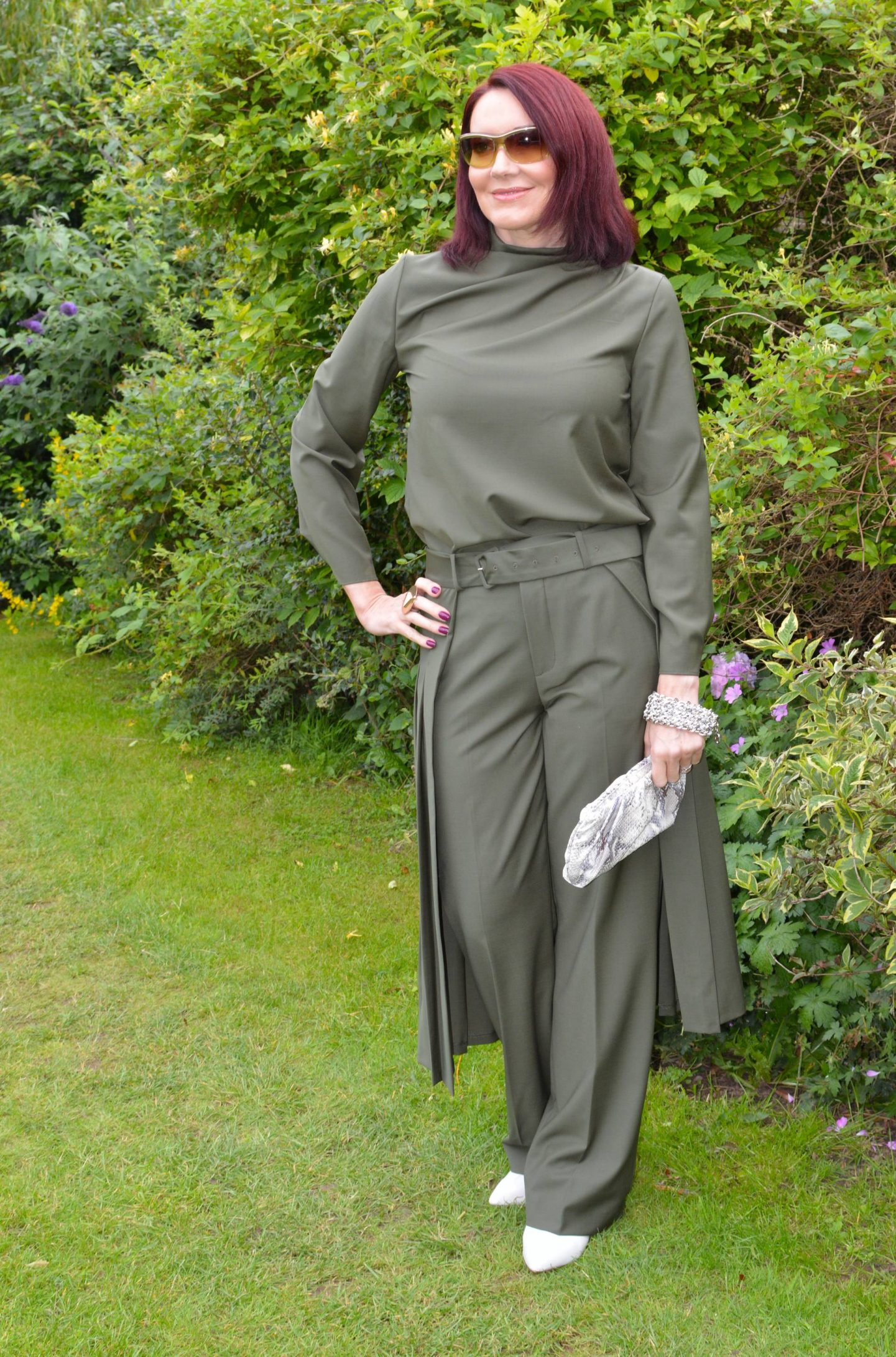 Zara Khaki Trouser Co-ord
