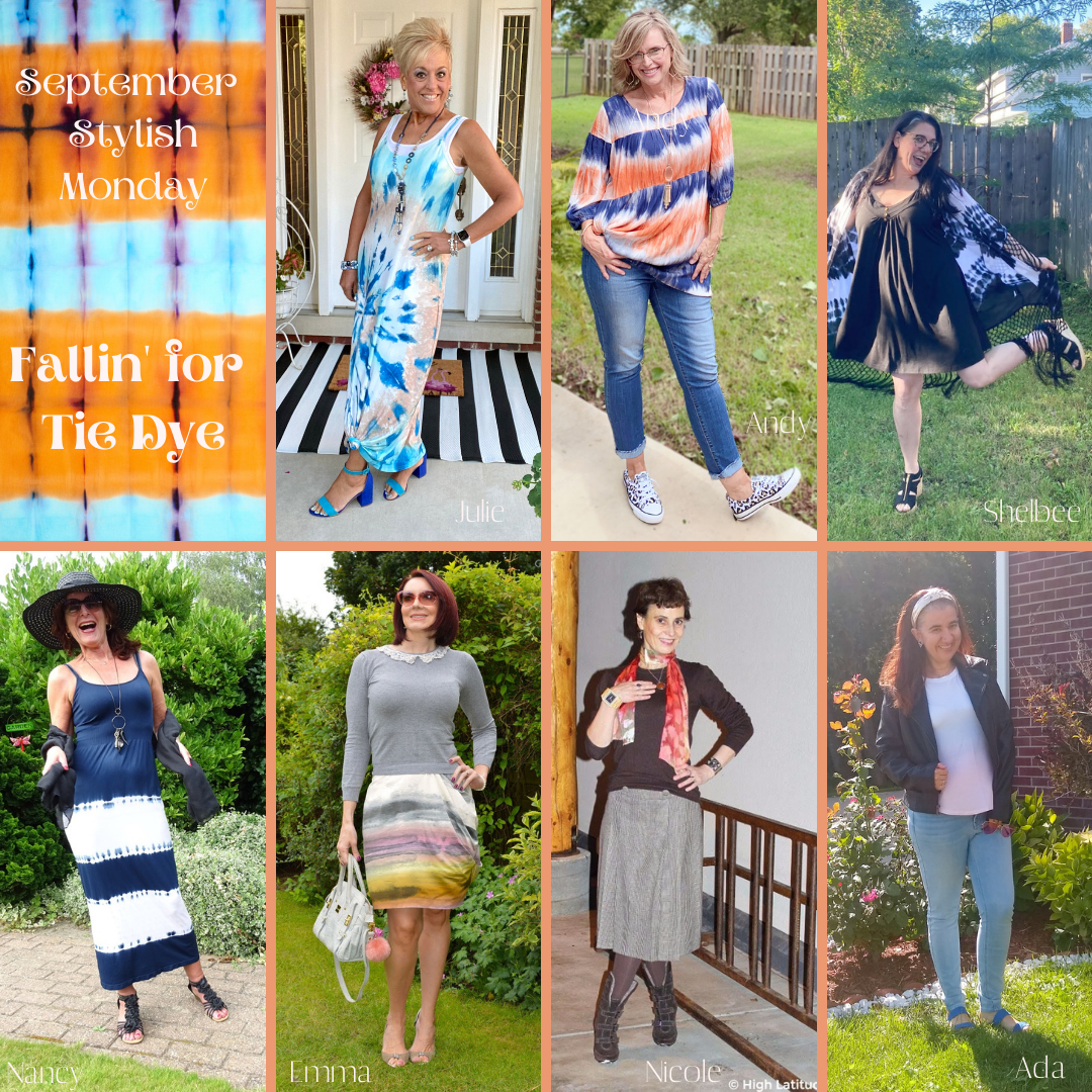 Fallin' For Tie Dye - Stylish Monday Link Up