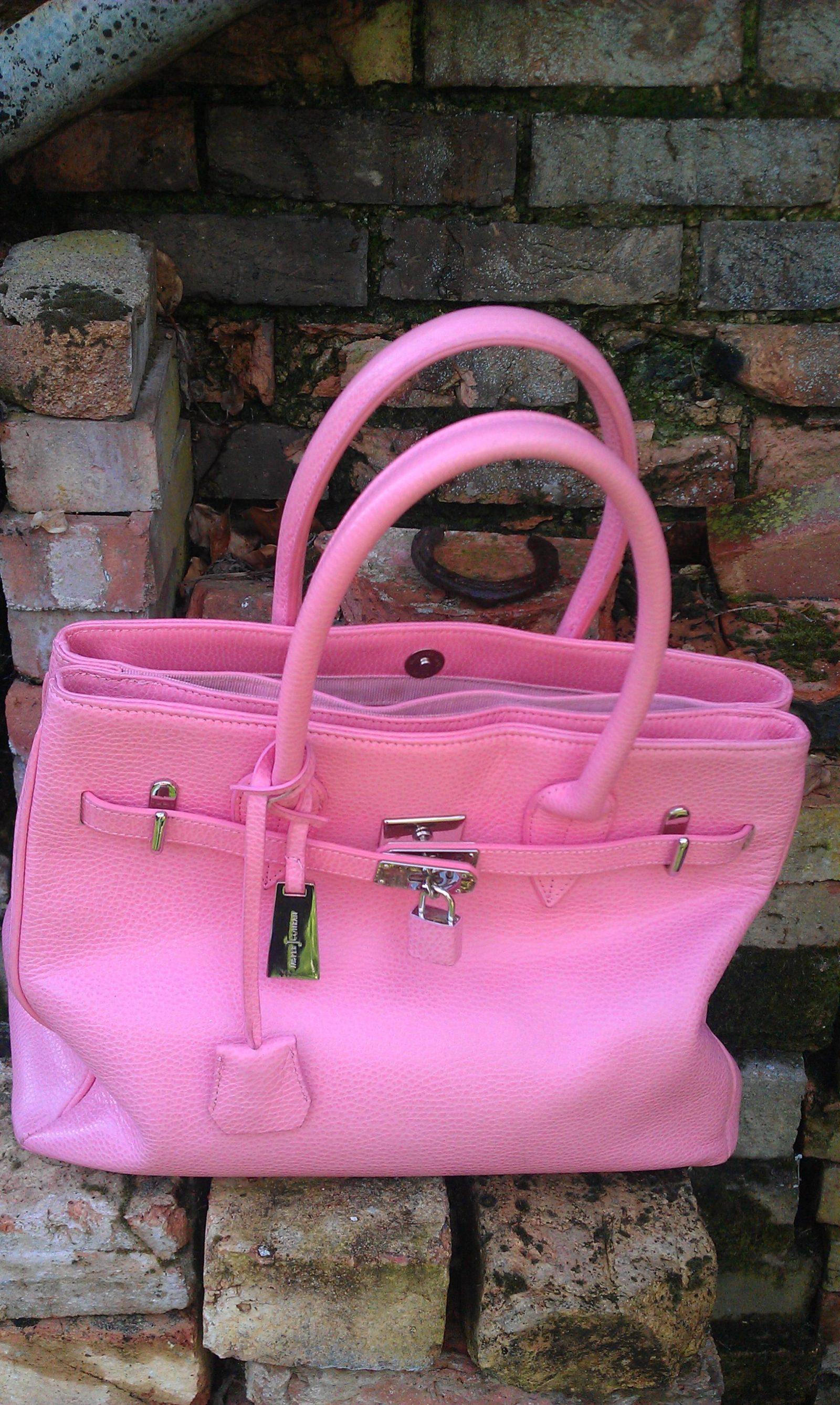 J by Jasper Conran pink tote bag