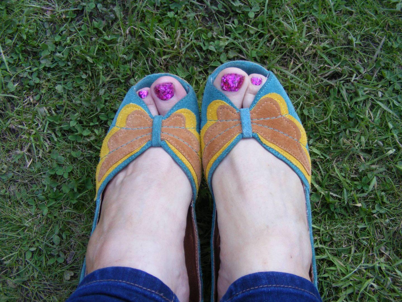 Bronx butterfly sandals