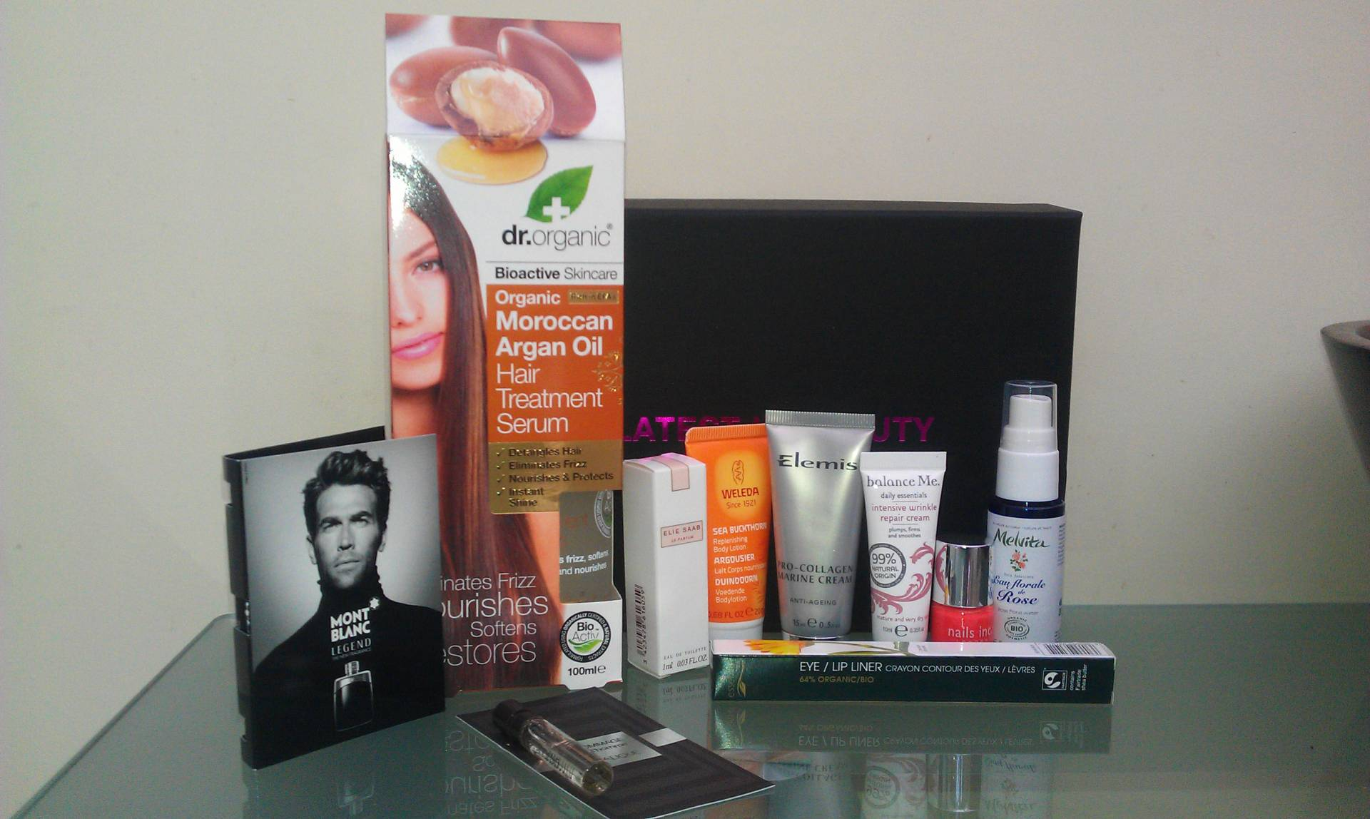 Latest in Beauty CEW box