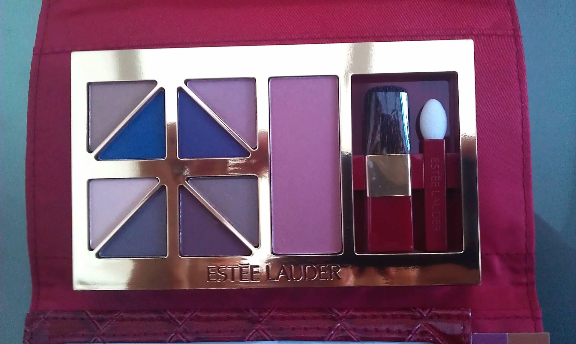 Estee Lauder smokey plum eyeshadow palette