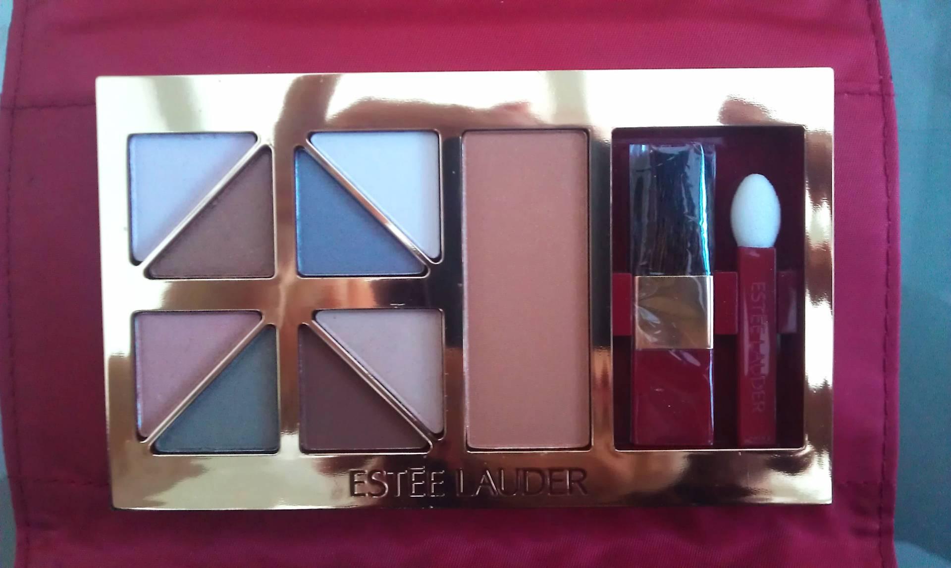 Estee Lauder soft neutral eyeshadow palette
