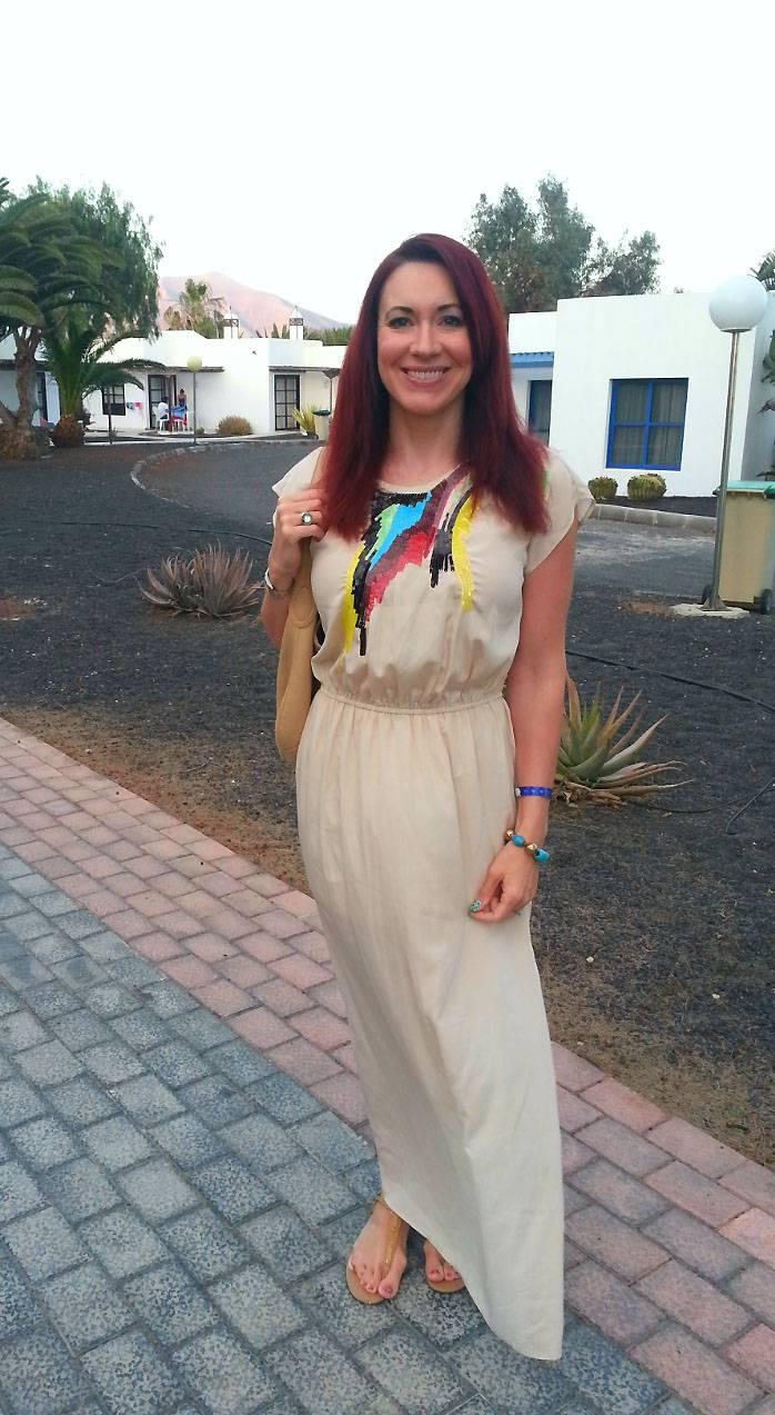 Sequinned Summer Maxi Dress, Butterfly by Matthew Williamson dress