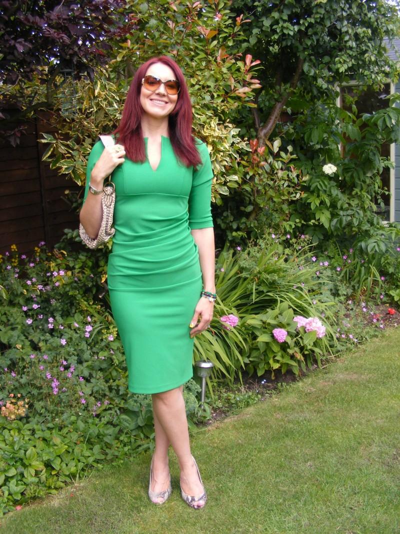 Green Lashes dress