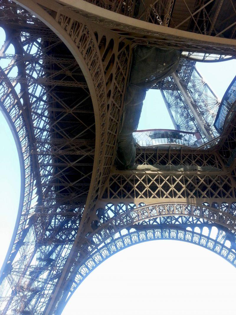 Eiffel Tower ground view