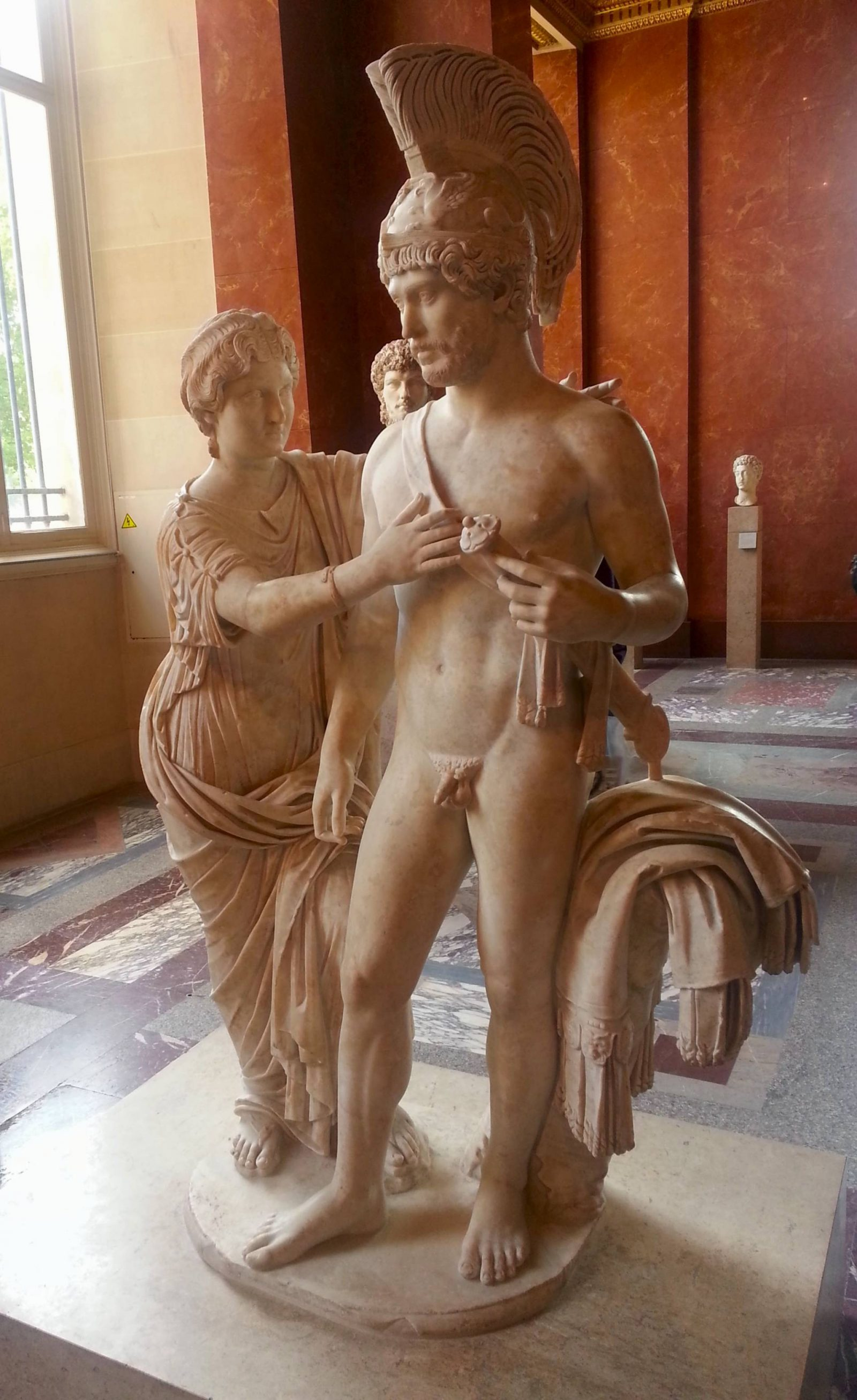 Louvre Roman statue