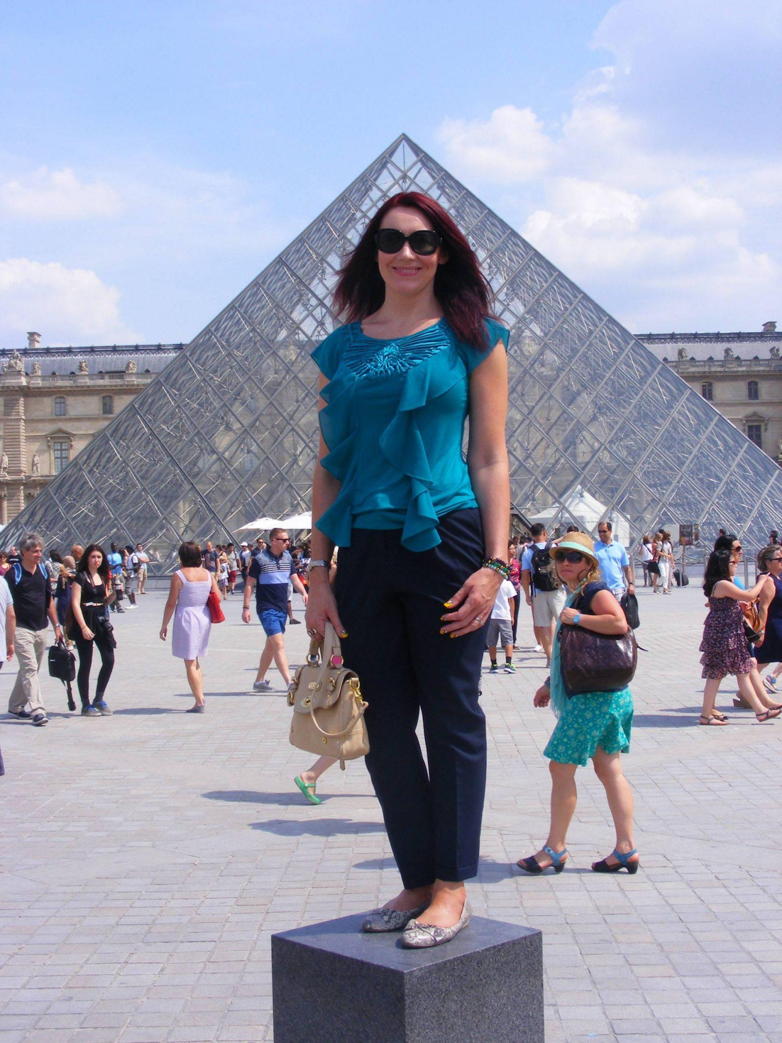 Paris Day 2 | Louvre and Sacré-Cœur, Louvre pyramid