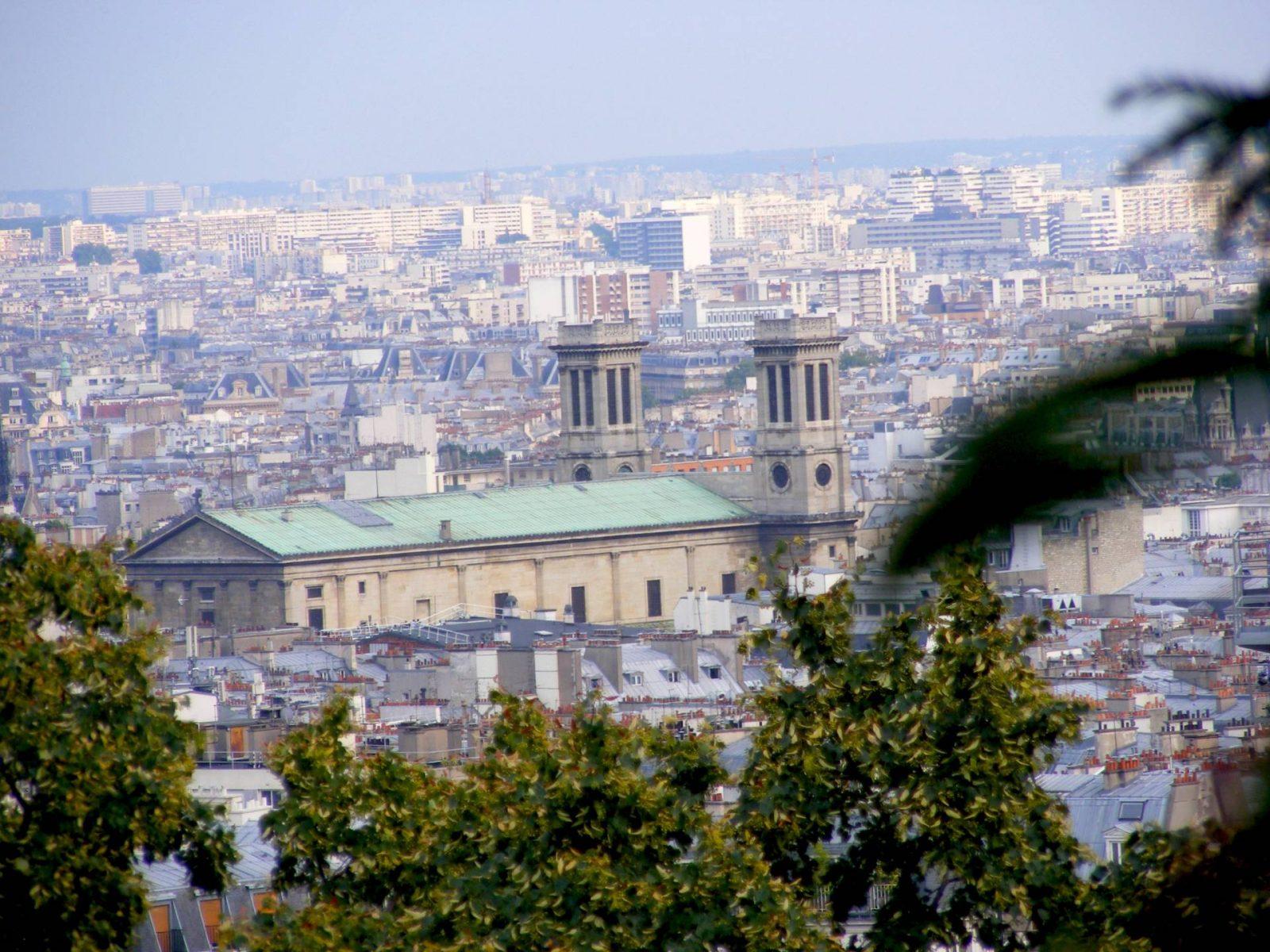 Paris Day 2 | Louvre and Sacre Coeur, Paris from Montmatre