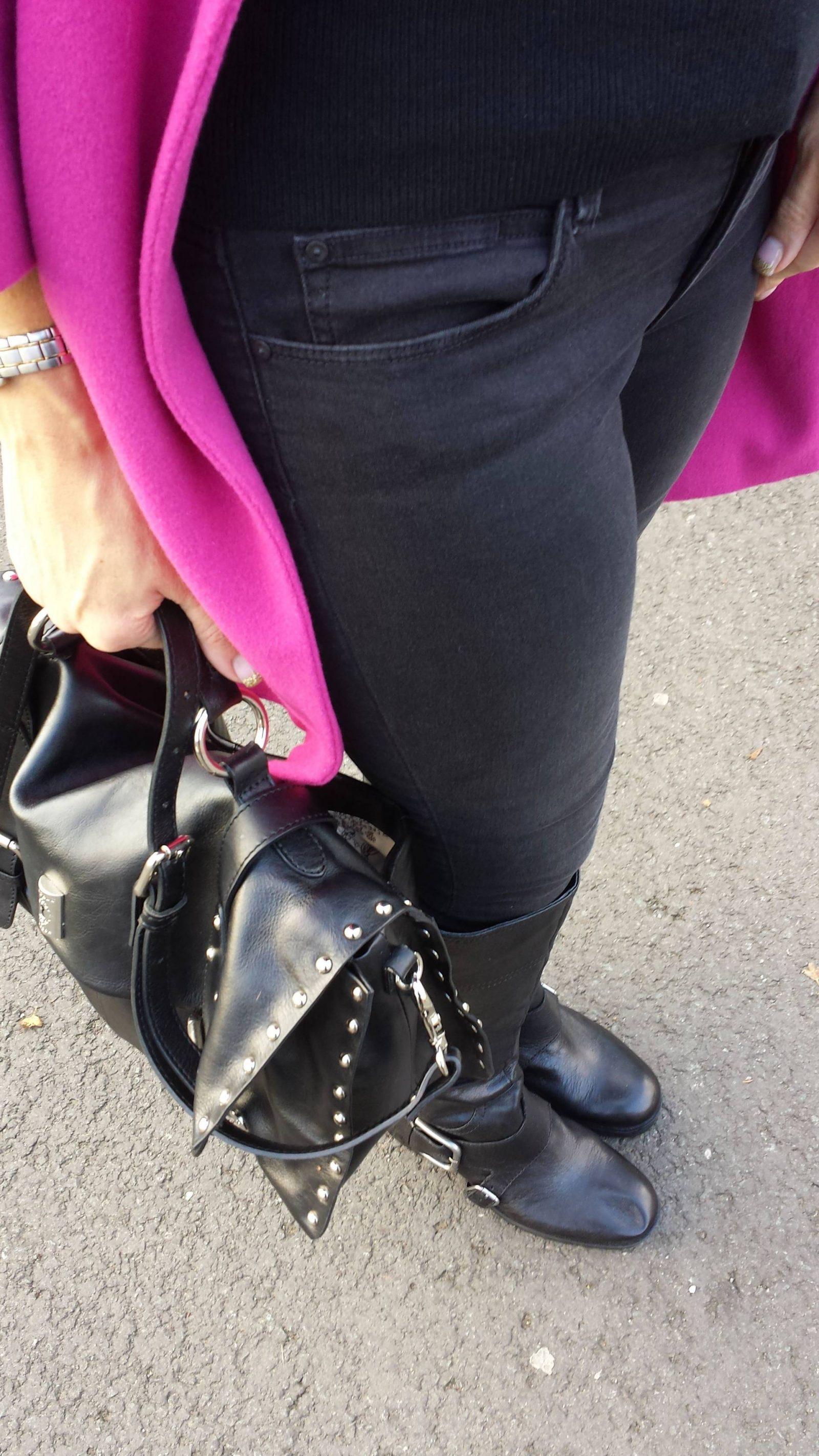 Kurt Geiger knee boots Modalu satchel