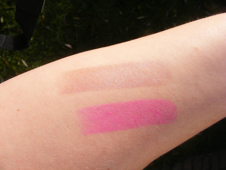 MUA lipstick swatches