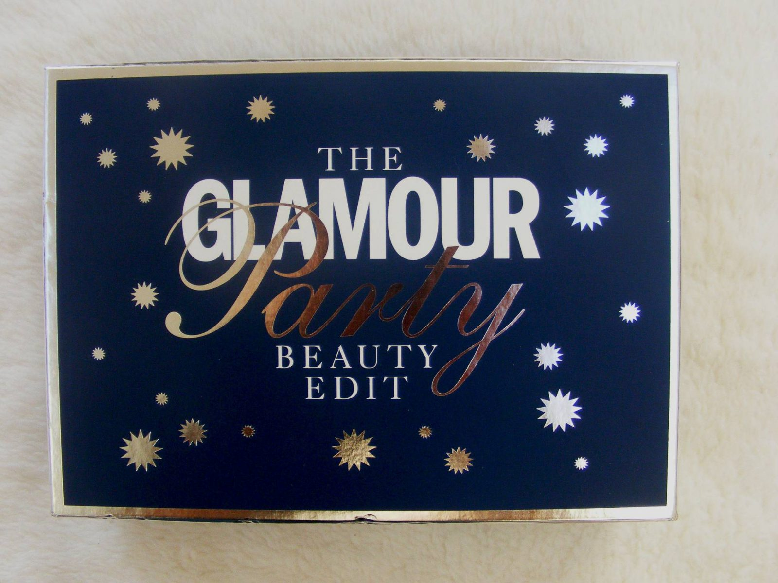 Glamour Beauty Party Edit box