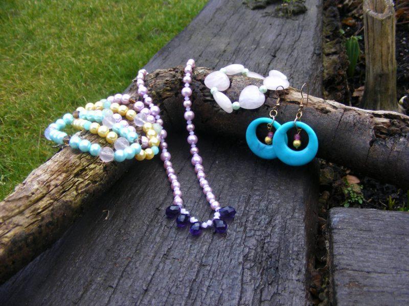 Handmade spring jewellery