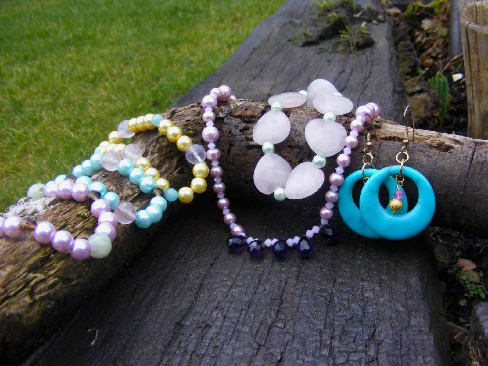 Pastel spring jewellery