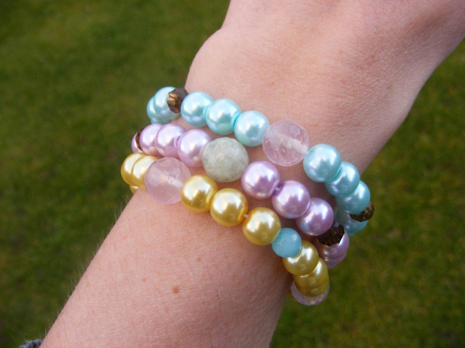 Handmade Jewellery for Spring, Pearl bracelets