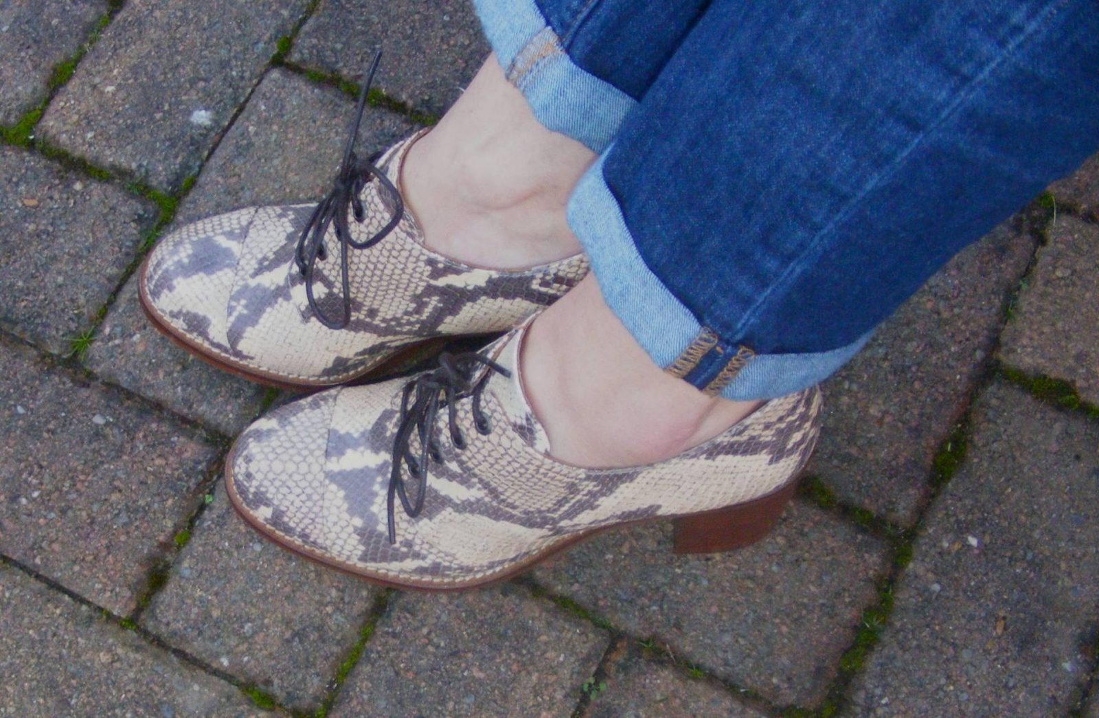 Topshop snakeskin shoes
