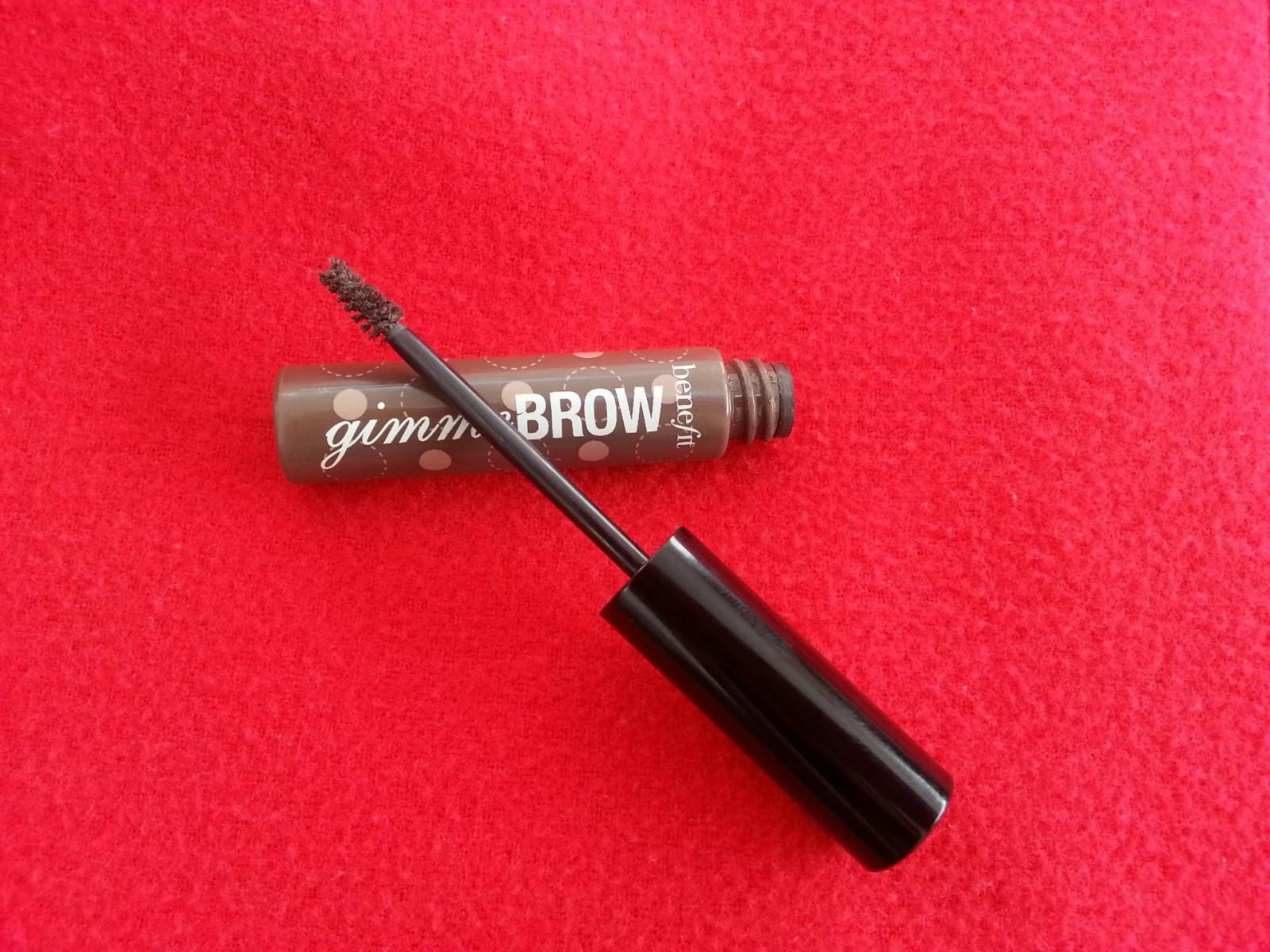 Eyebrow Gels: Splurge v Save, Benefit Gimme Brow