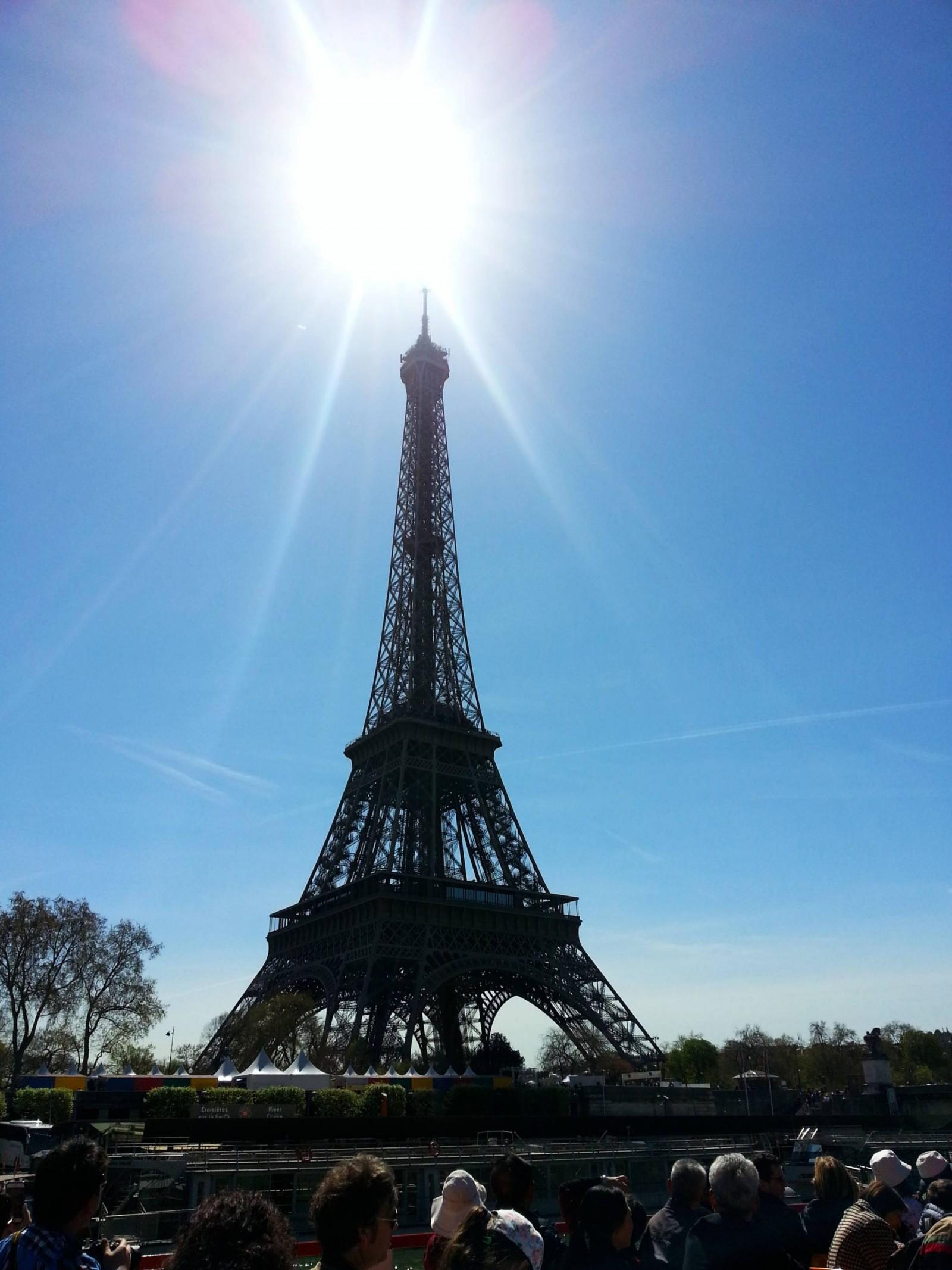 Eiffel Tower Seine cruise