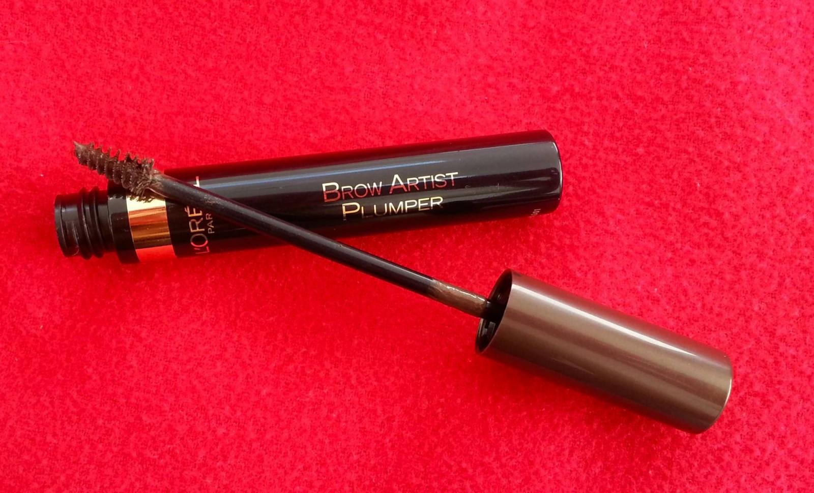 Eyebrow Gels: Splurge v Save, L'oreal brow artist plumper