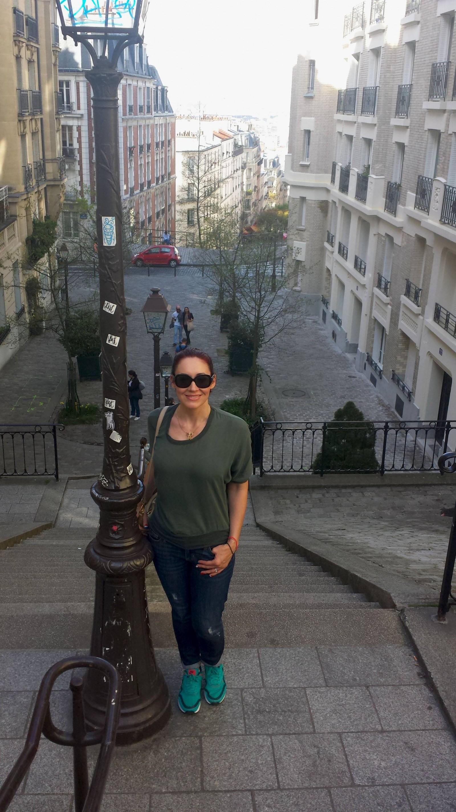 Paris: Seine Cruise and Montmartre, Steps in Montmatre Paris