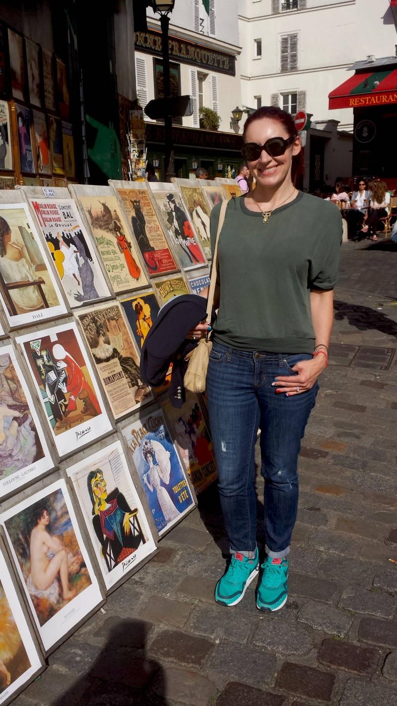 Posters in Montmartre