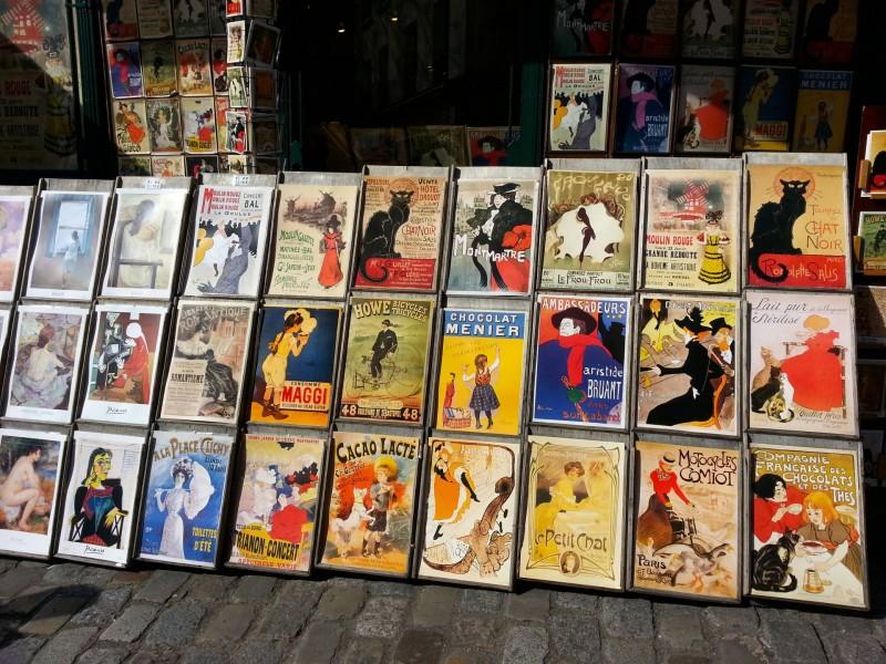 Paris Montmartre art