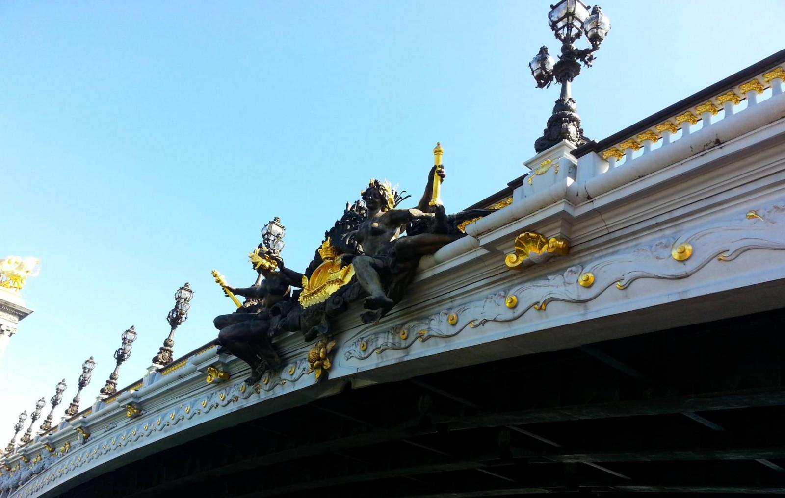 Paris Seine Cruise, Pont Alexandre III Paris