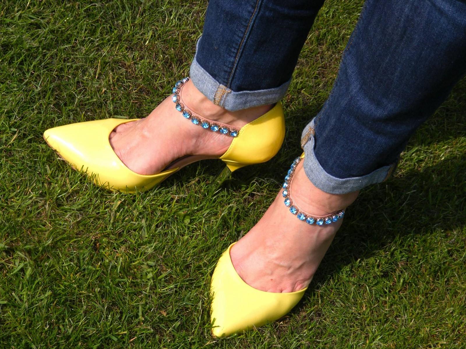 Carvela Anita jewel strap shoes