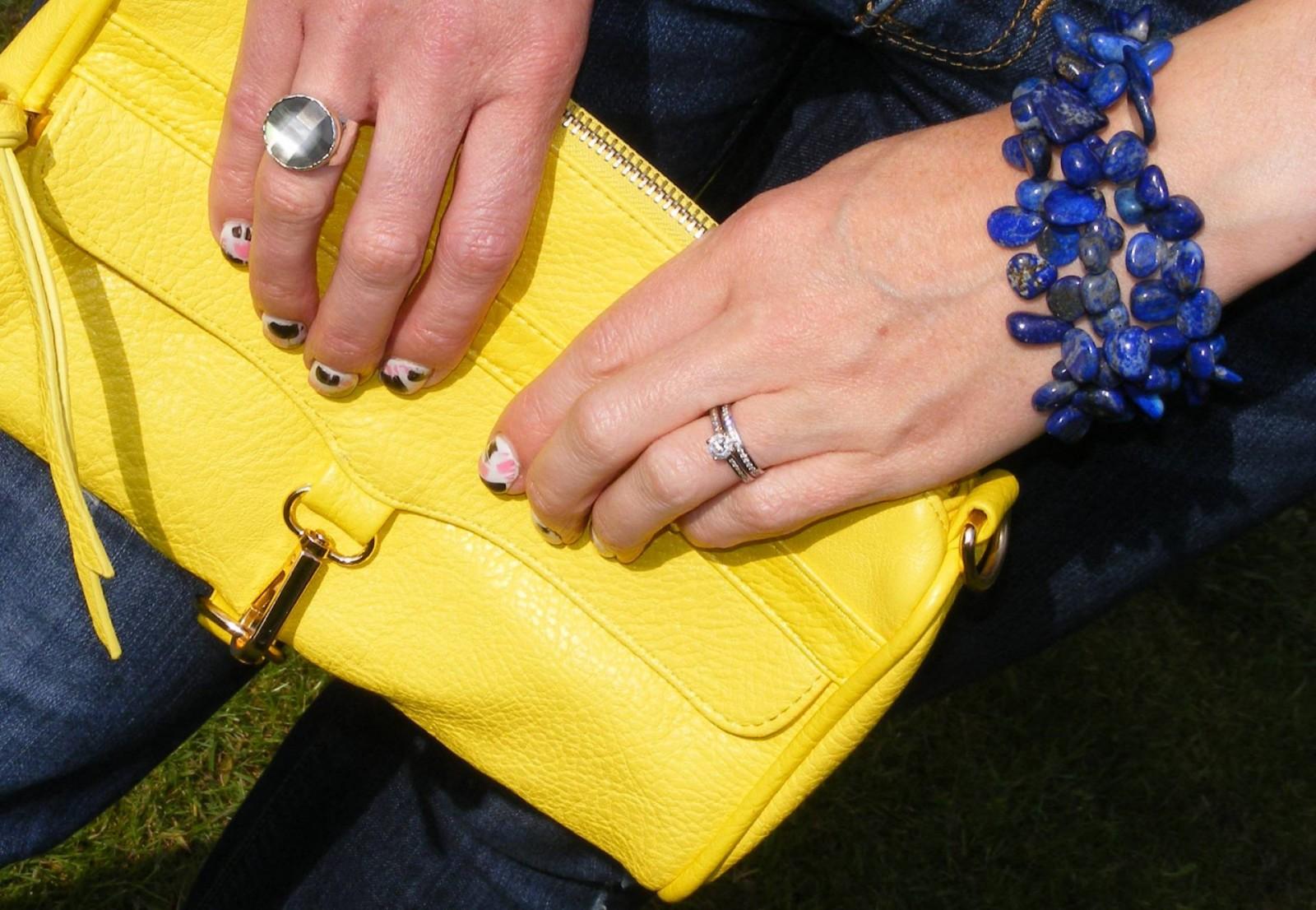 Pia lapis lazuli multistrand bracelet