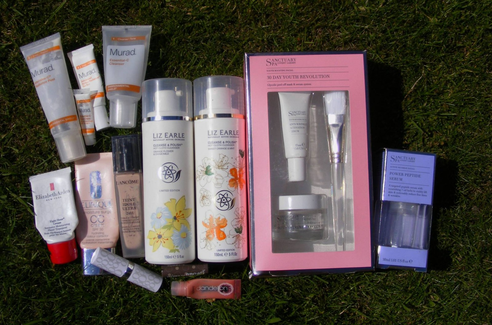 May empties Liz Earle Cleanse and Polish