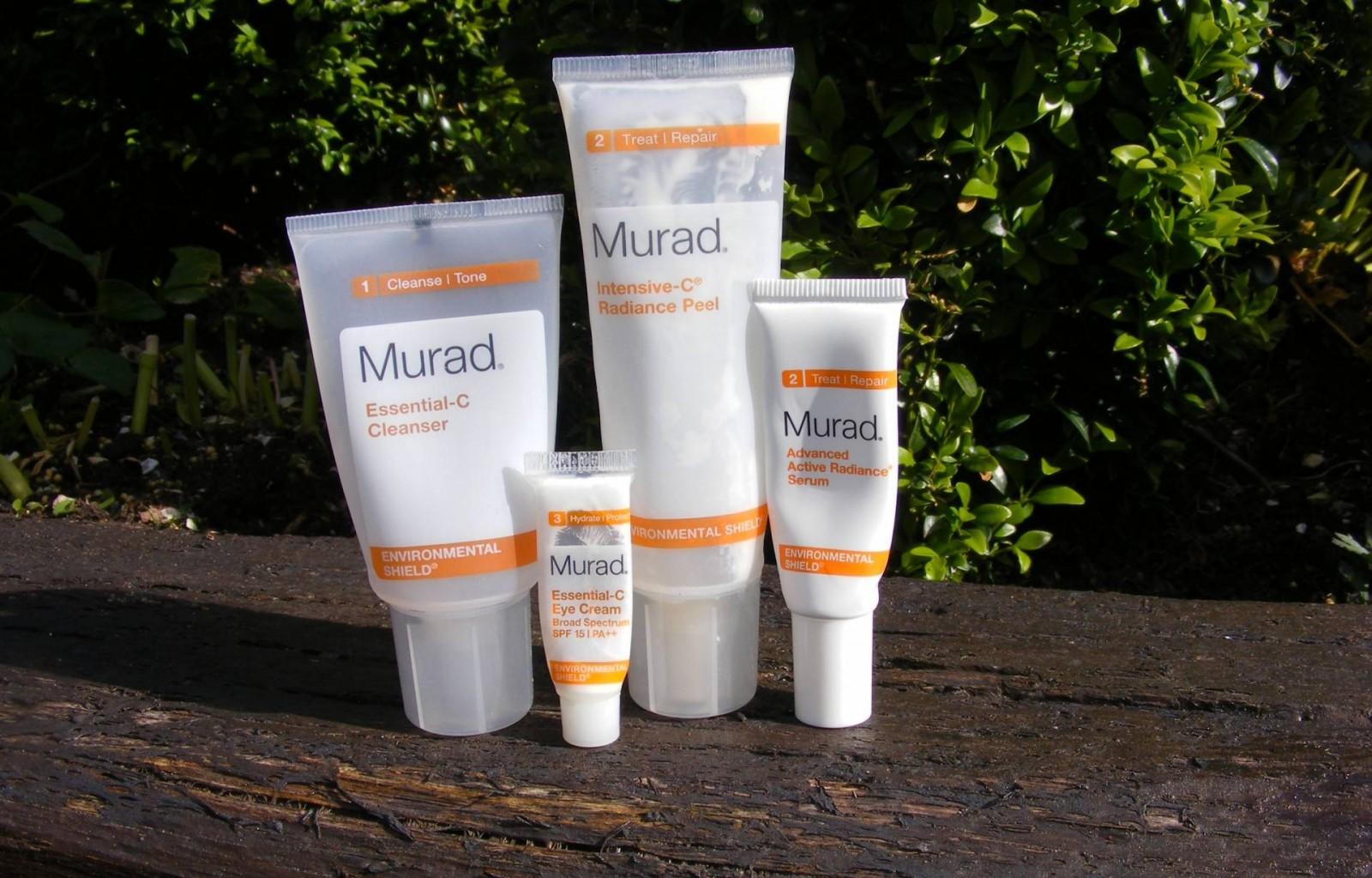 May empties Murad Essential C cleanser