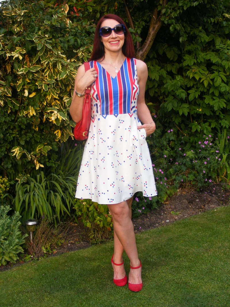 Fever fit and flare dress