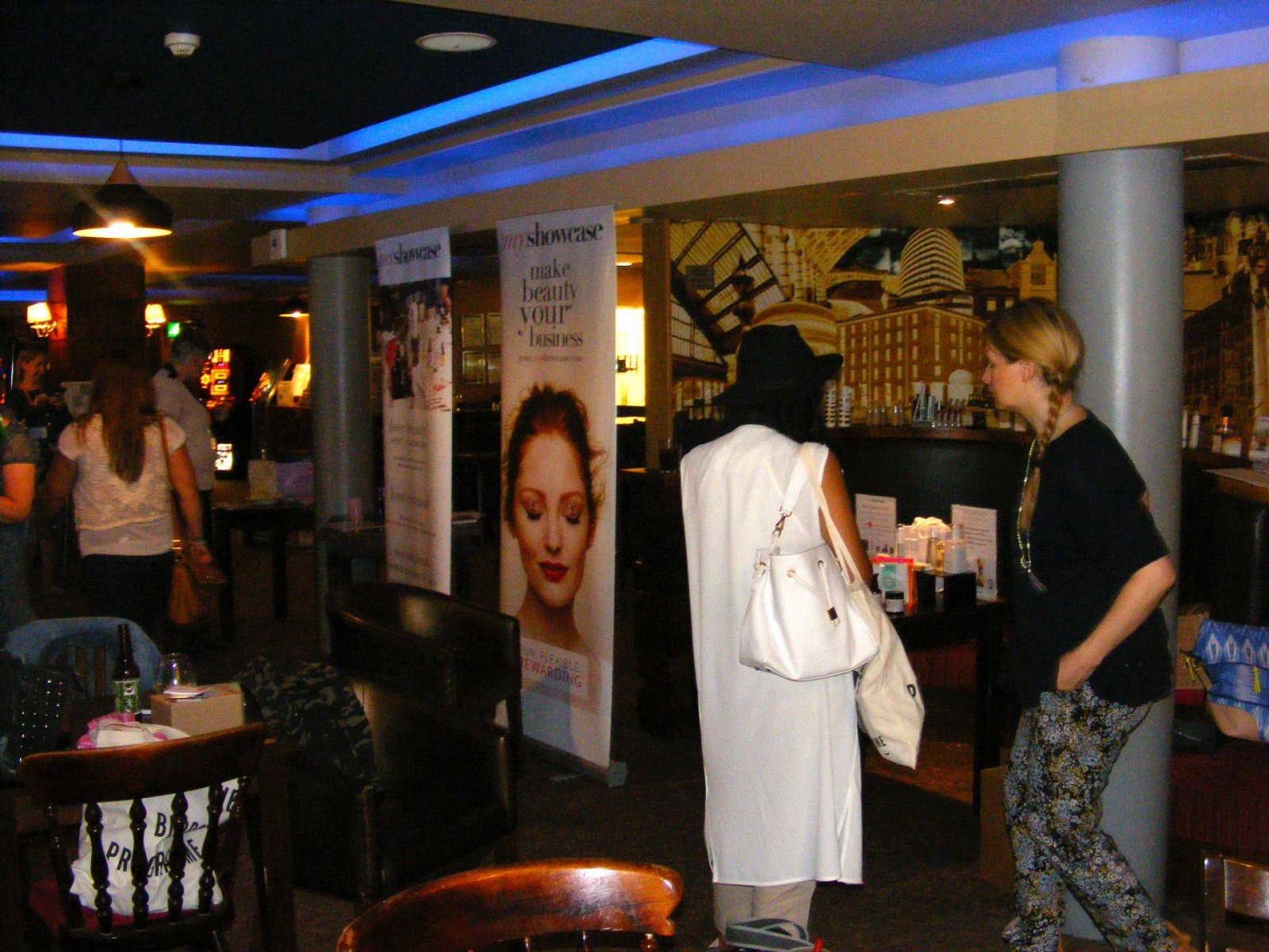 NW Bloggers Meet Up in Liverpool My Showcase stand