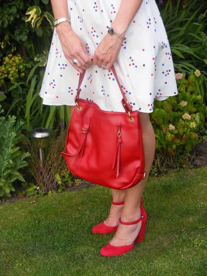Red Biba shoes
