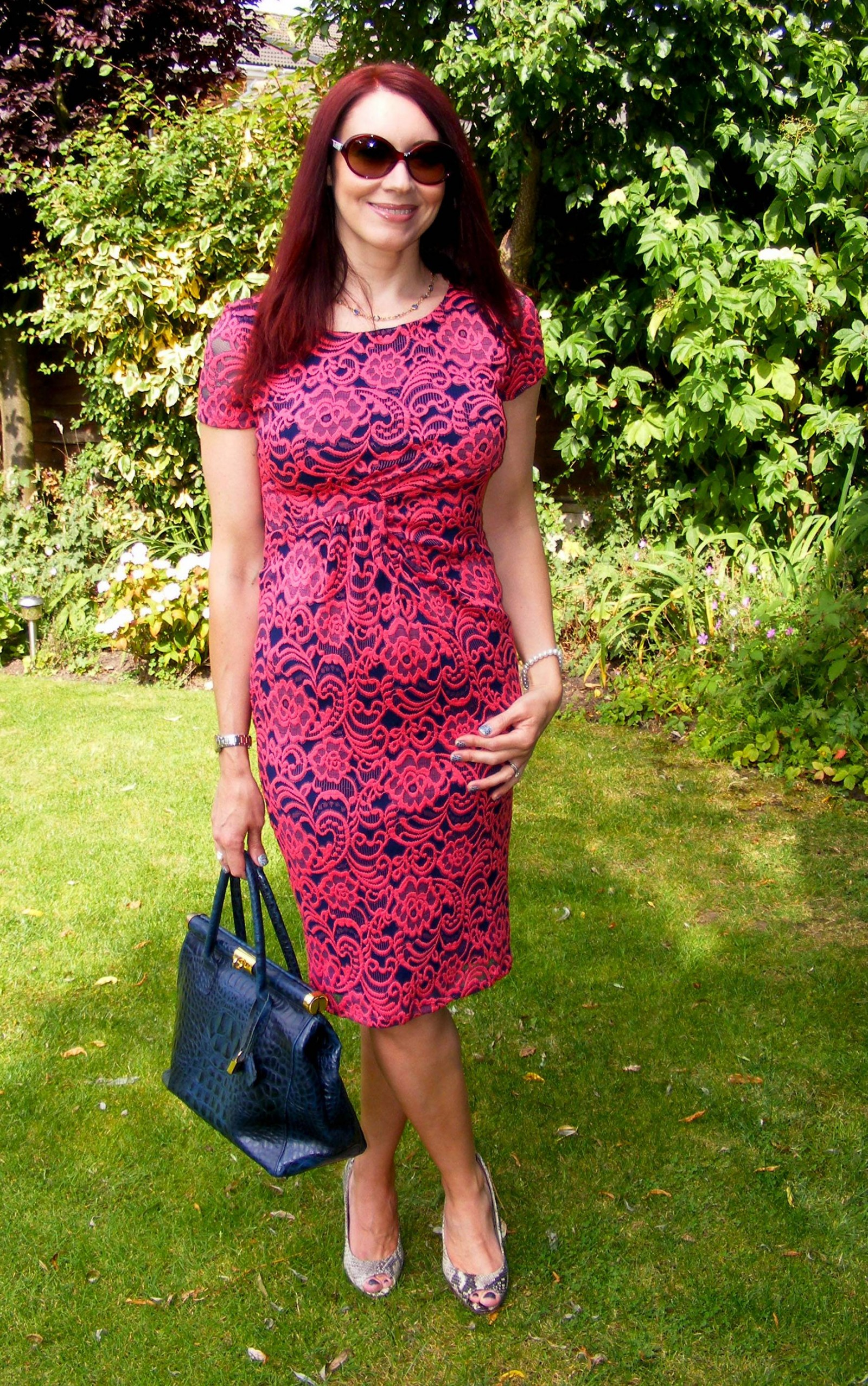 M&S lace dress
