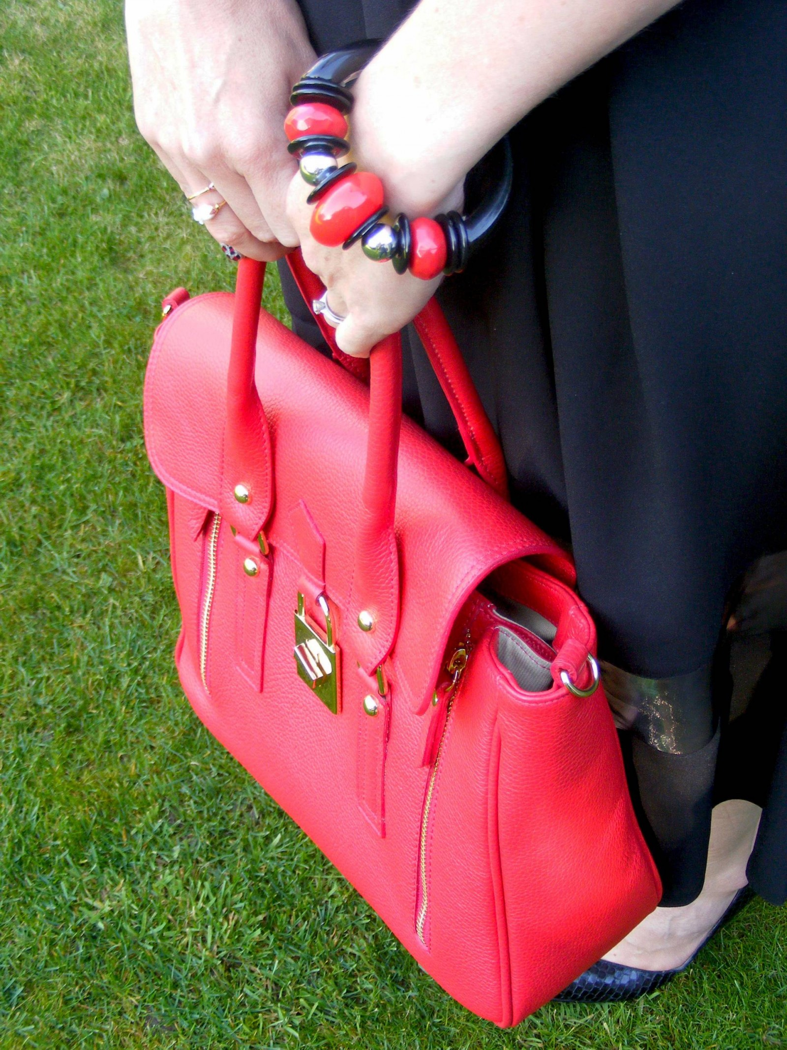 Red Mila Blu bag