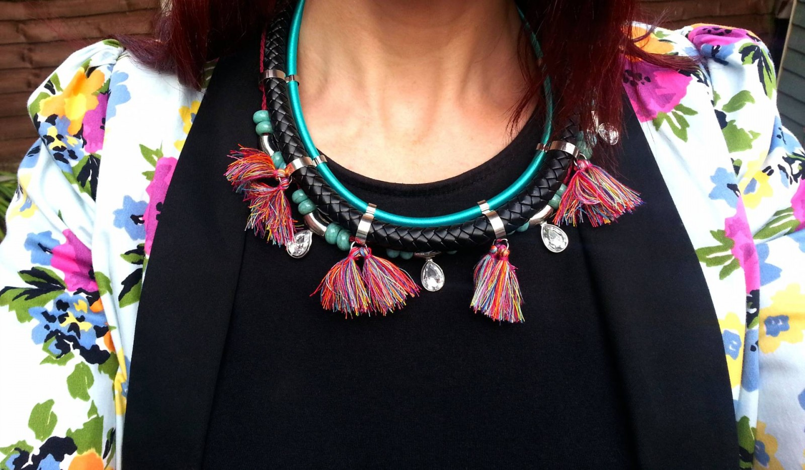 Topshop Tassle necklace