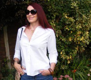 white jaeger cotton shirt