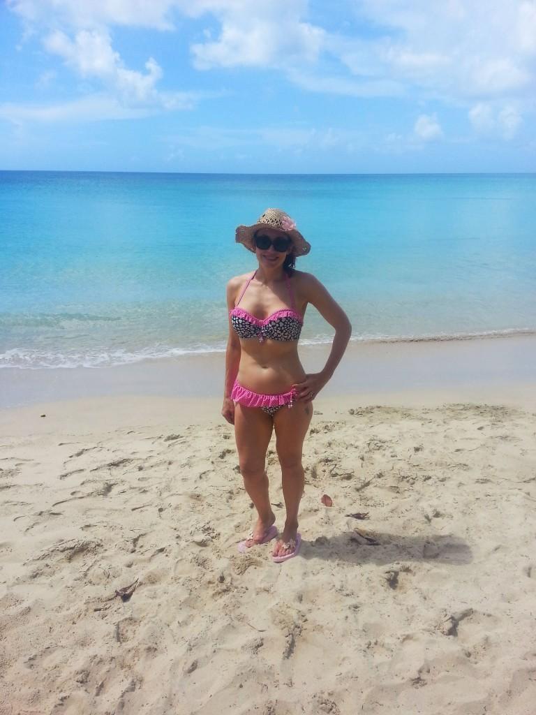 Floozie frill bikini Barbados Holiday Wardrobe