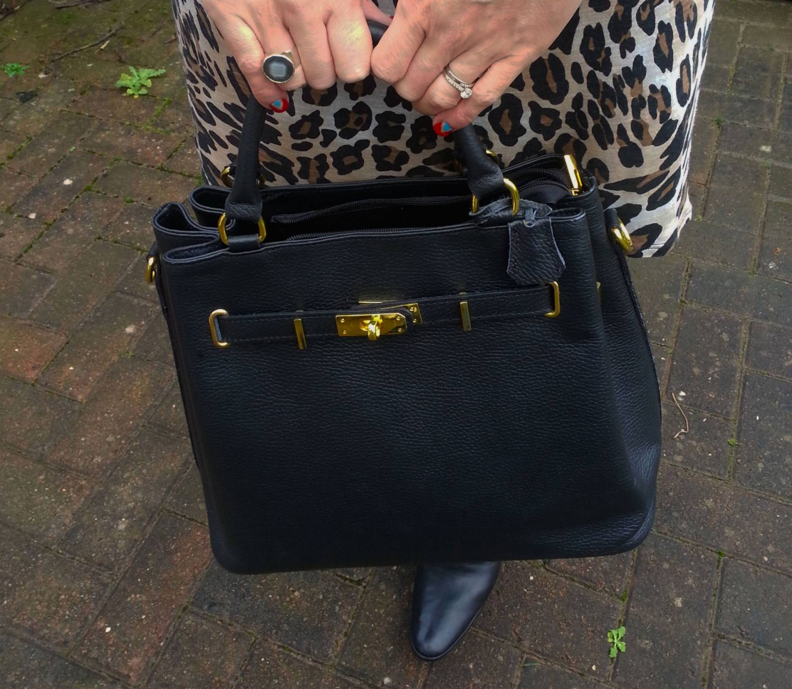 Black Mila Blu bag