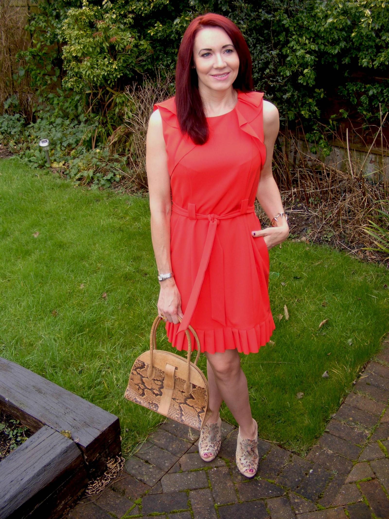 J by Jasper Conran red dress