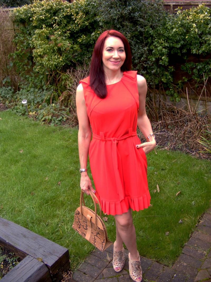 Red J by Jasper Conran dress