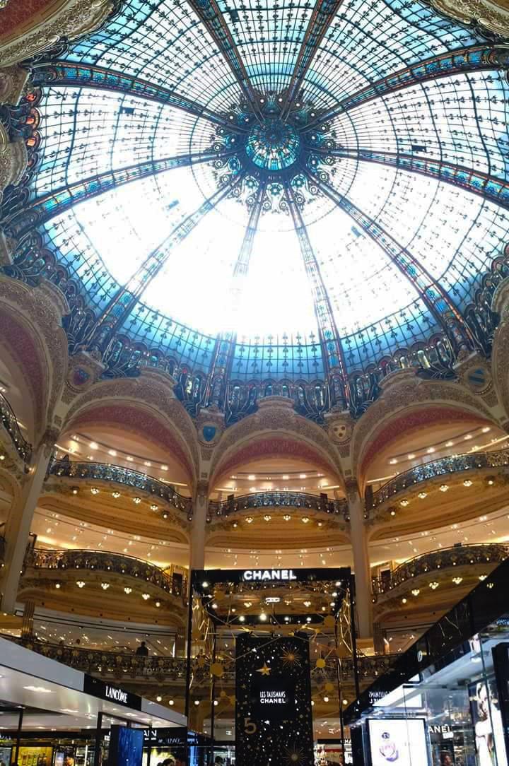 Galeries Lafayette Paris dome