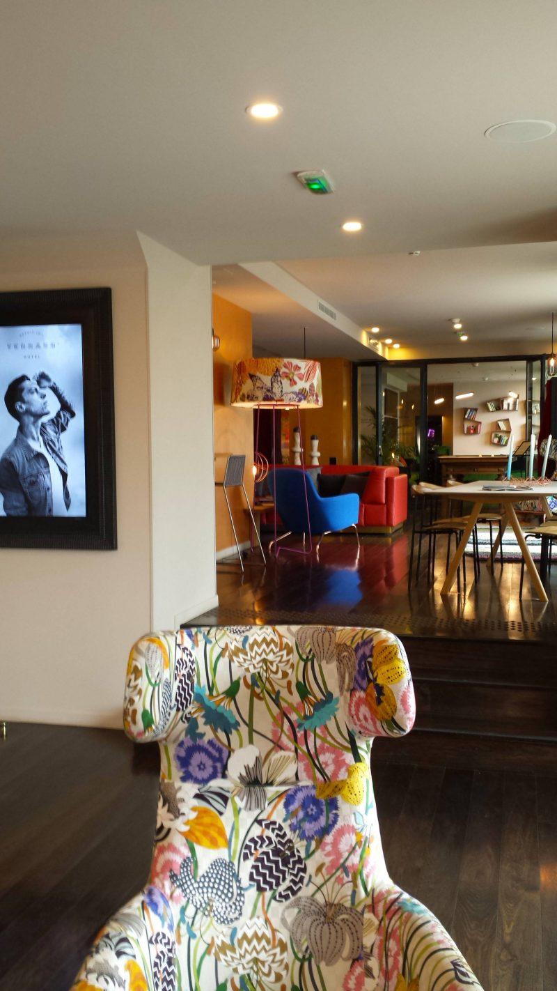 Terrass Hotel reception area